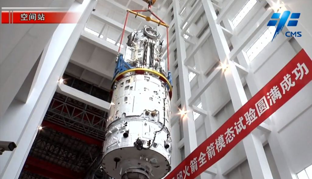 China's first space station module is ready for flight