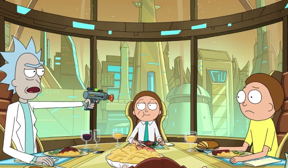 Rick and Morty and Evil Morty