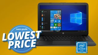 HP Stream 14 laptop CM2019 splash