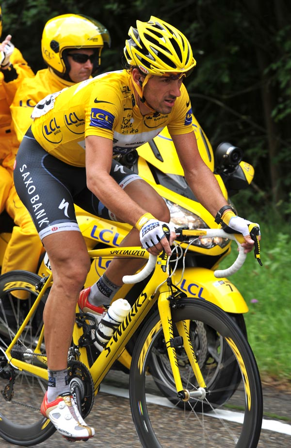 Fabian Cancellara, Tour de France 2010 stage 2
