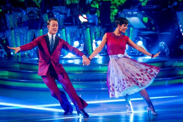 Frankie and Kevin on Strictly