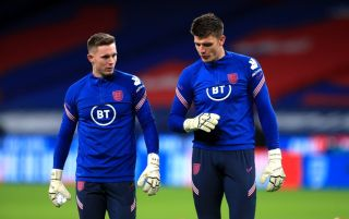 Dean Henderson and Nick Pope