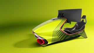 ASTON MARTIN AMR-C01 Racing Simulator seat