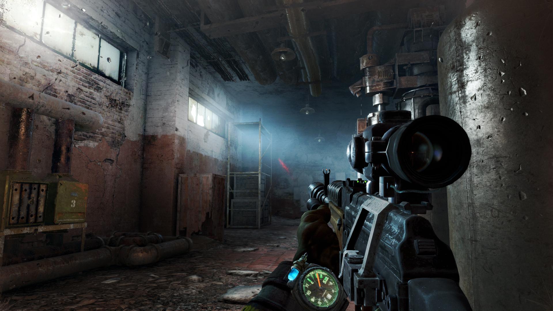 Going Underground In Metro Last Light Redux Pc Gamer
