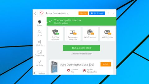 free antivirus for windows xp avira