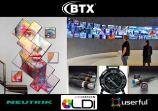 BTX to Bring Fiber, Video Wall, and Collaboration Solutions to LDI
