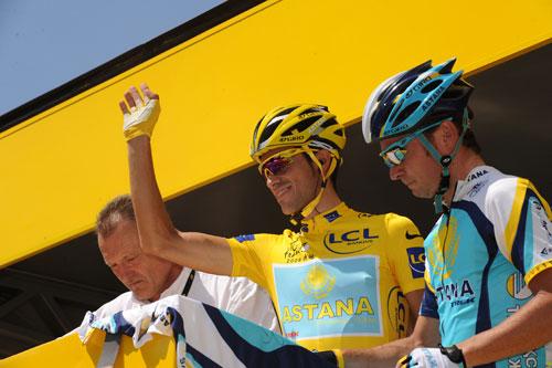 Alberto Contador, Tour de France 2009, stage 19