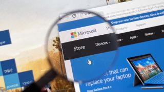Microsoft Store website