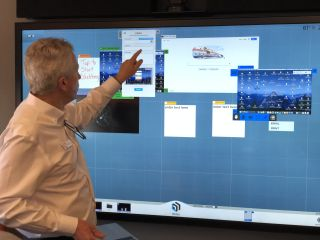 T1V Shows its Suite of Collaboration, Active Learning Software in NYC