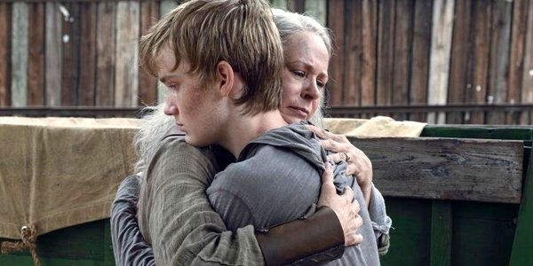 The Walking Dead Carol and Henry