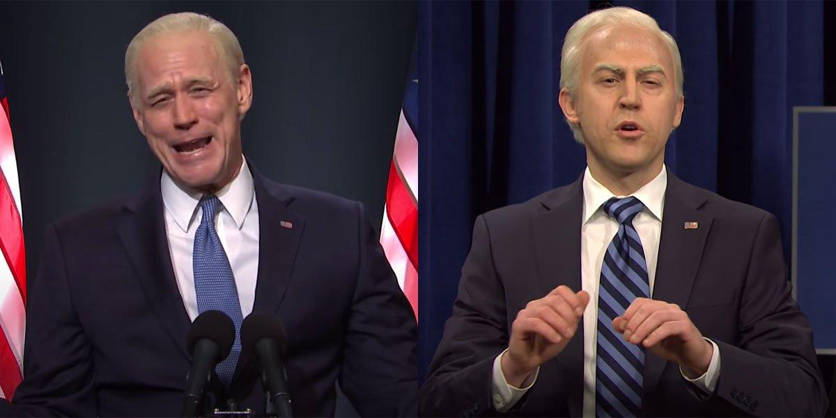 SNL's Two Bidens in 2020