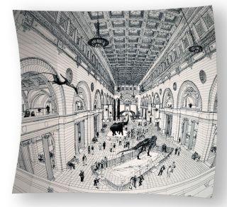 Field Museum Drawing