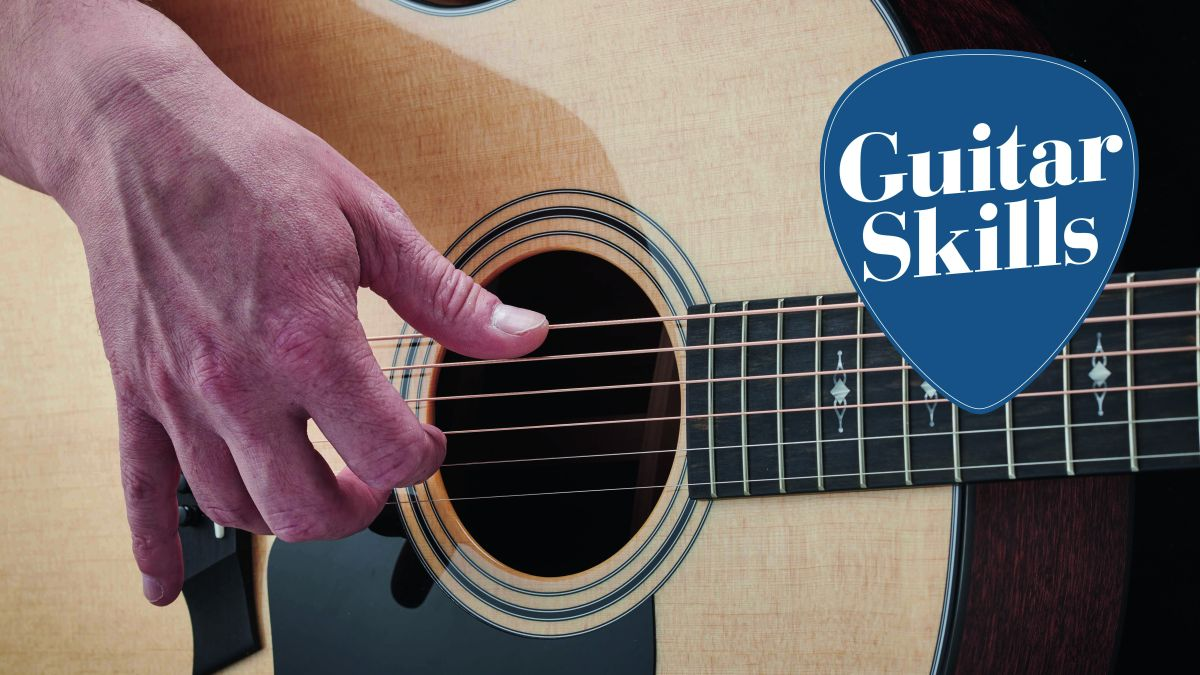 Ditch your pick and start fingerstyle today with three guitar chords and this lesson
