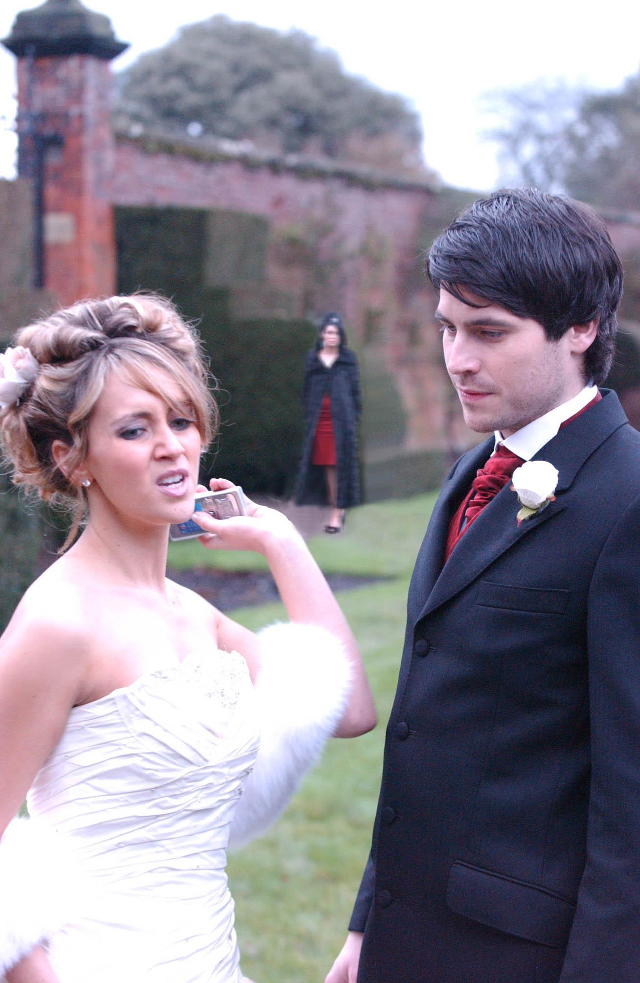 Has Carla ruined the wedding?