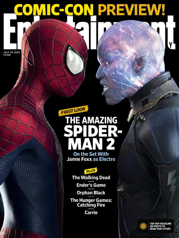 Amazing Spider-Man 2 Entertainment Weekly Cover