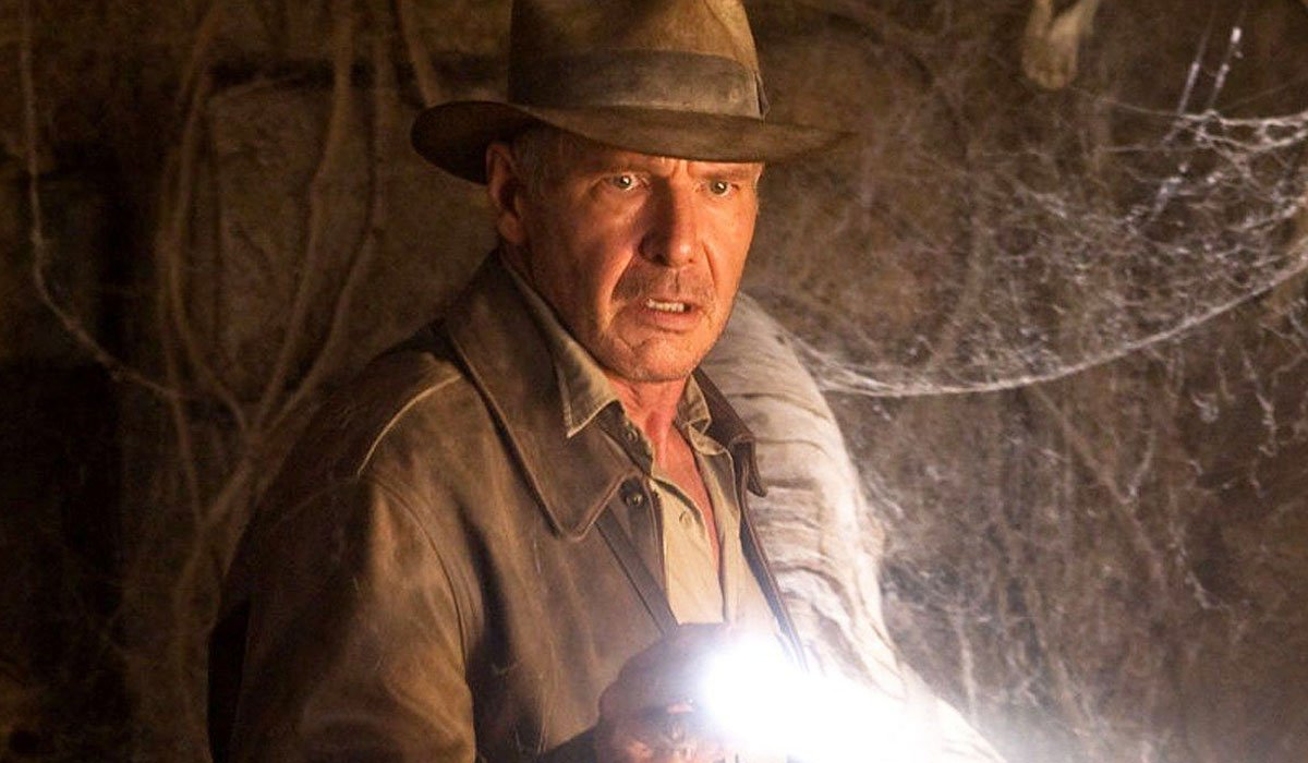 Harrison Ford Playing Indiana Jones.