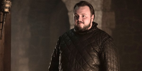 John Bradley as Samwell Tarly in Game of Thrones Season 8 premiere HBO