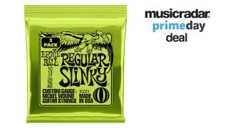 Ernie Ball strings Amazon Prime Day deal