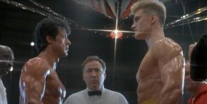 Sylvester Stallone Teases Rocky IV Director's Cut Trailer With Retro Image With Dolph Lundgren