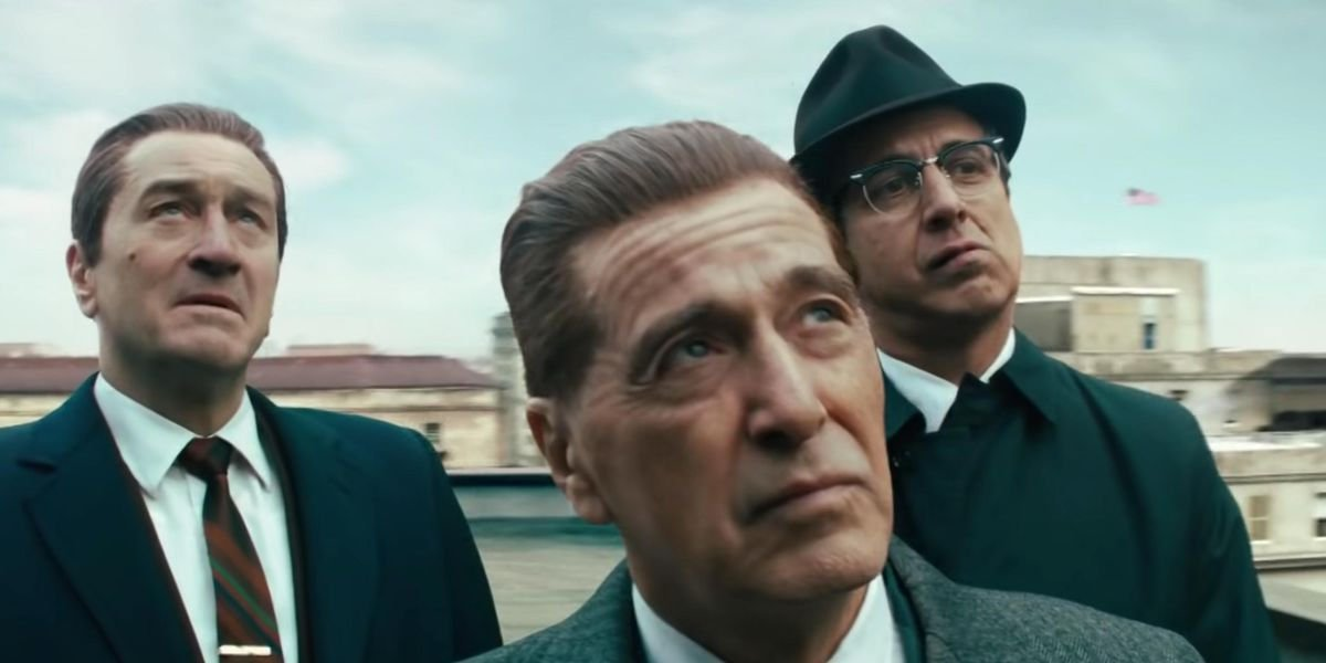 Robert De Niro, Al Pacino and Ray Romano in 'The Irishman.'