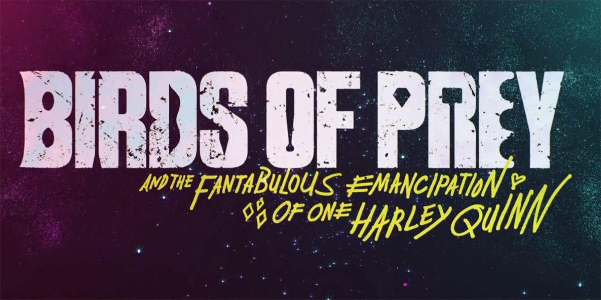 Birds Of Prey (And The Fantabulous Emancipation Of One Harley Quinn) logo