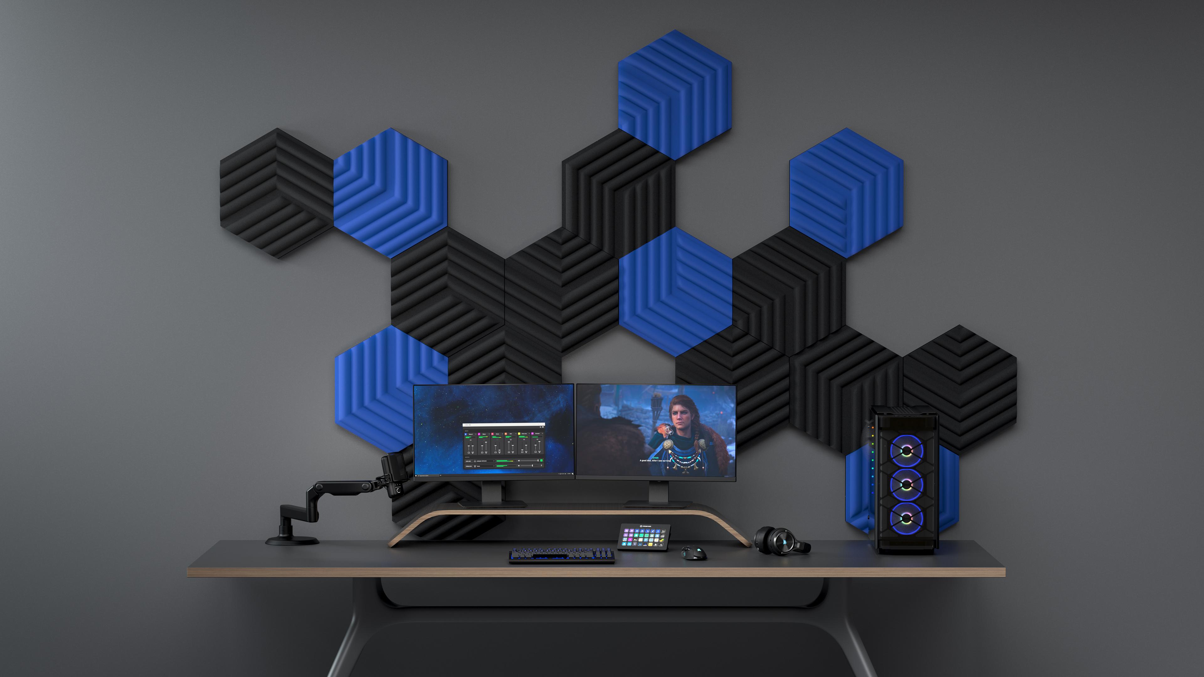 Elgato releases fancy acoustic foam panels for the discerning streamer