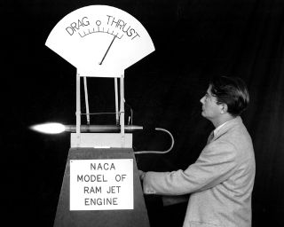 space history, NACA, aircraft engines