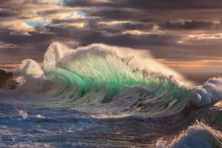 'Rough sea 12' by Giovanni Allievi