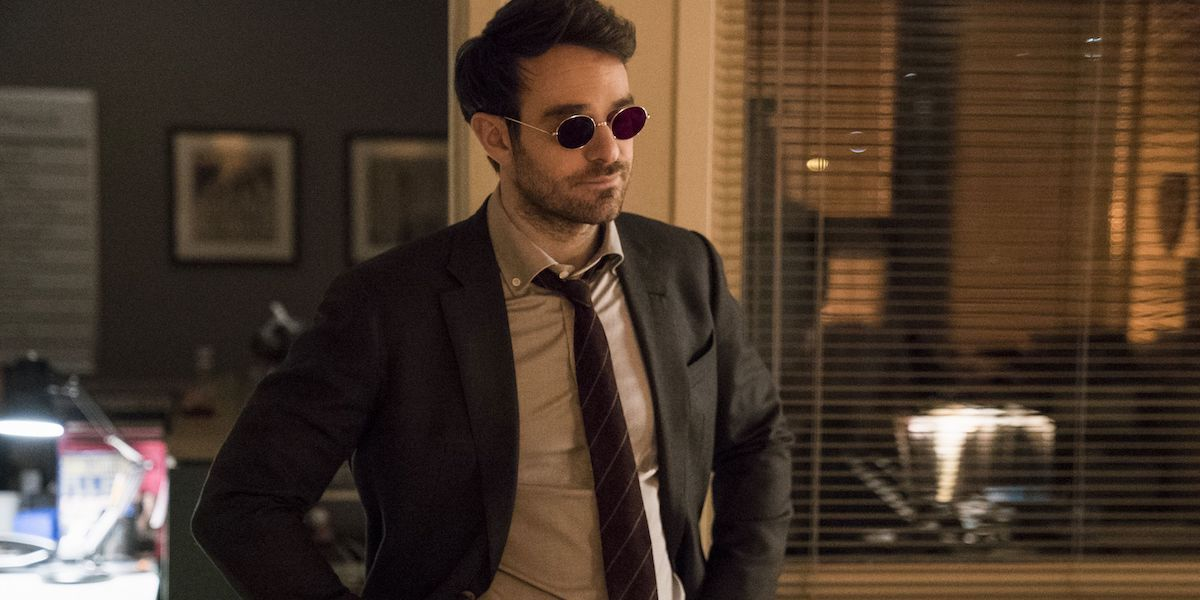 Charlie Cox in Netflix's Daredevil TV series