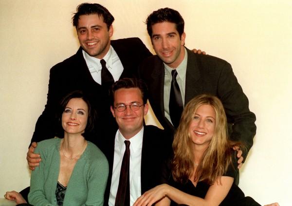 Matt Le Blanc, David Schwimmer, Courteney Cox, Matthew Perry and Jennifer Aniston were in Friends