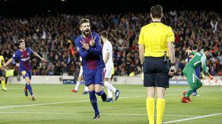 Pique Champions League goals