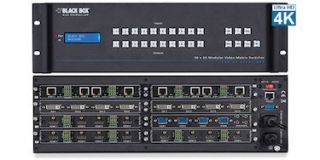 Black Box Unveils Video Matrix Switcher