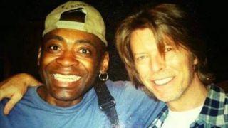 Dennis Davis with David Bowie