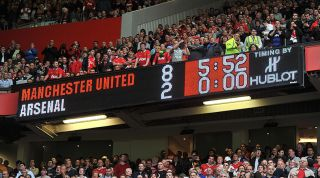 Quiz Can You Name The Line Ups From Man United 8 2 Arsenal 2011 12 Fourfourtwo