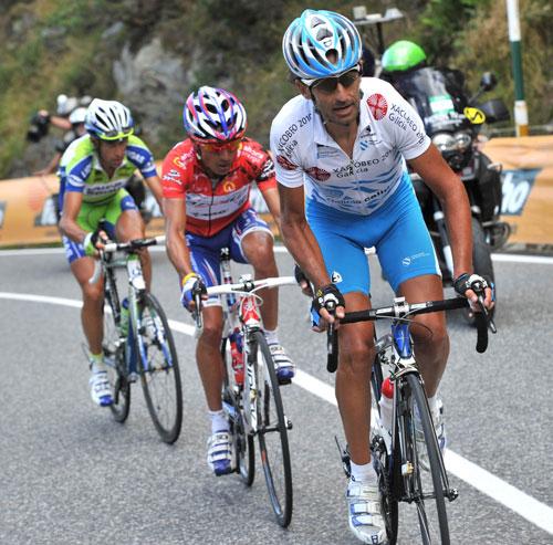 Ezequiel Mosquera, Vuelta a Espana 2010, stage 11