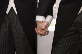 holding hands, stress relief, gay marriage