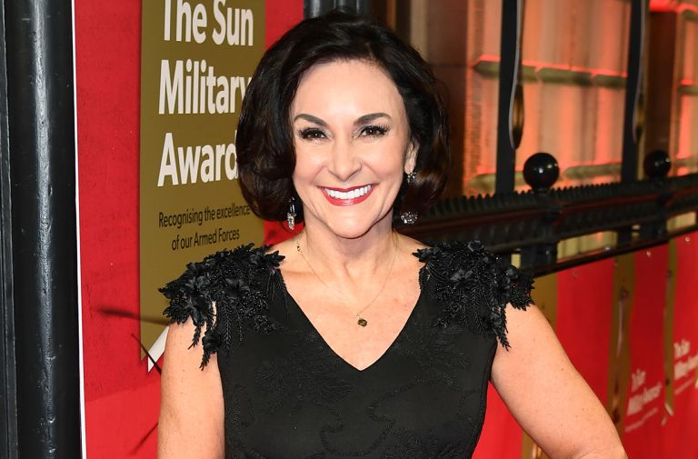 shirley ballas rushed hospital broken ankle