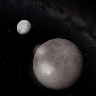 Pluto's Moon Is an Ice Machine