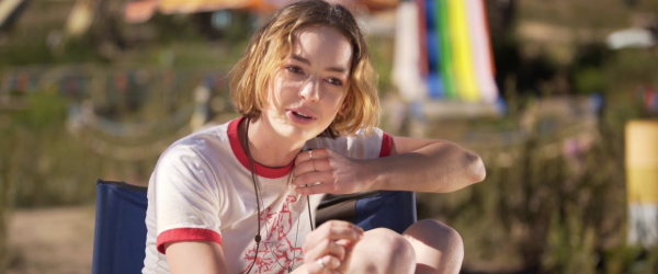 Action Point Brigette Lundy-Paine sitting in her lifeguard's post