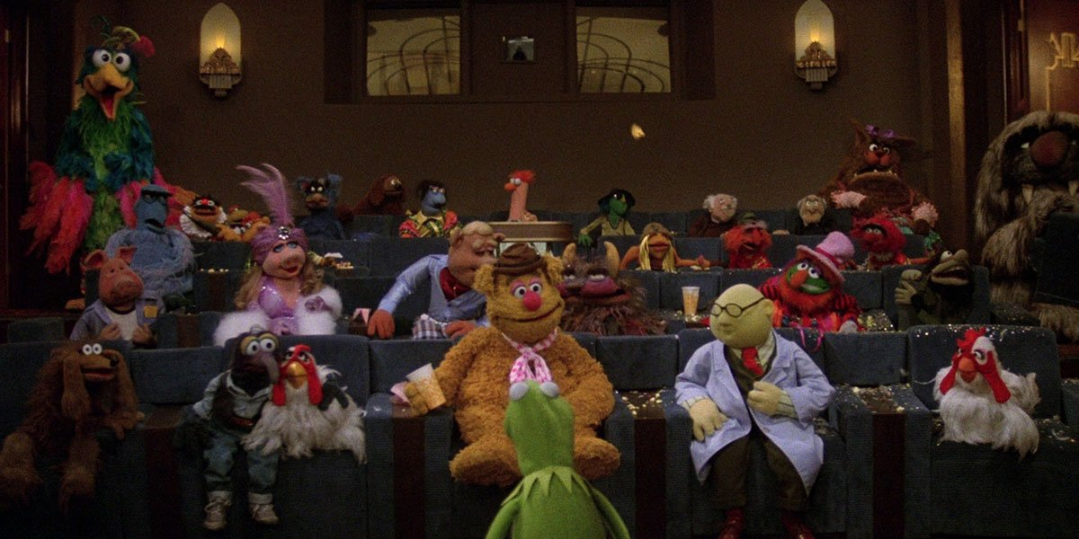 The Muppets at the movies