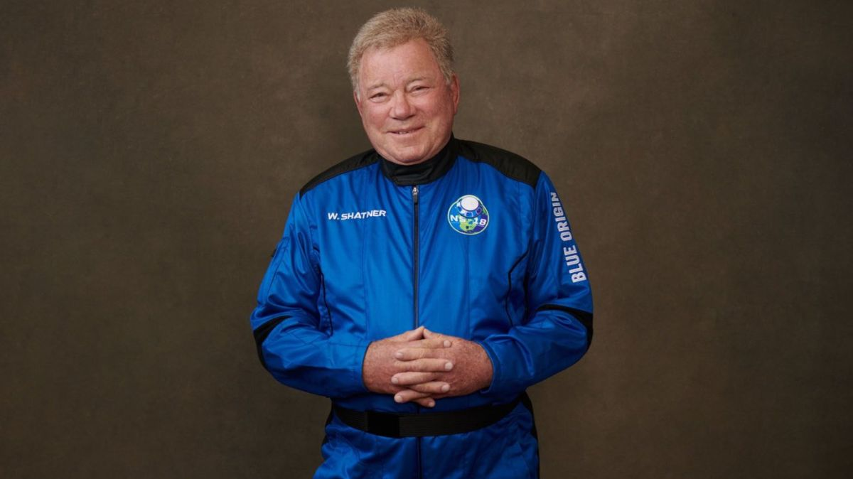 William Shatner of 'Star Trek' says he's ready to go to space for real
