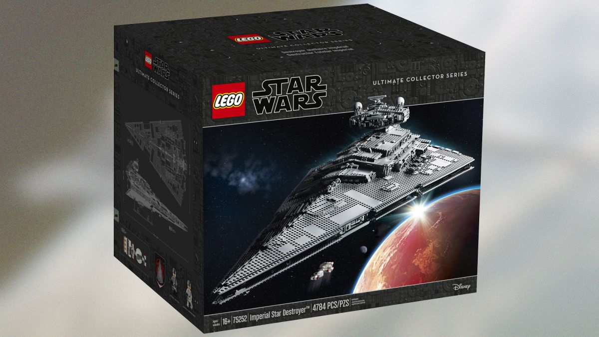 Lego's Giant New Imperial Star Destroyer Is Simply