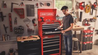 Save up to 48% on power tools and garage essentials with Lowe's Father's Day sale