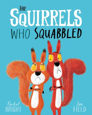 How to illustrate a children's book: The cover of The Squirrels Who Squabbled