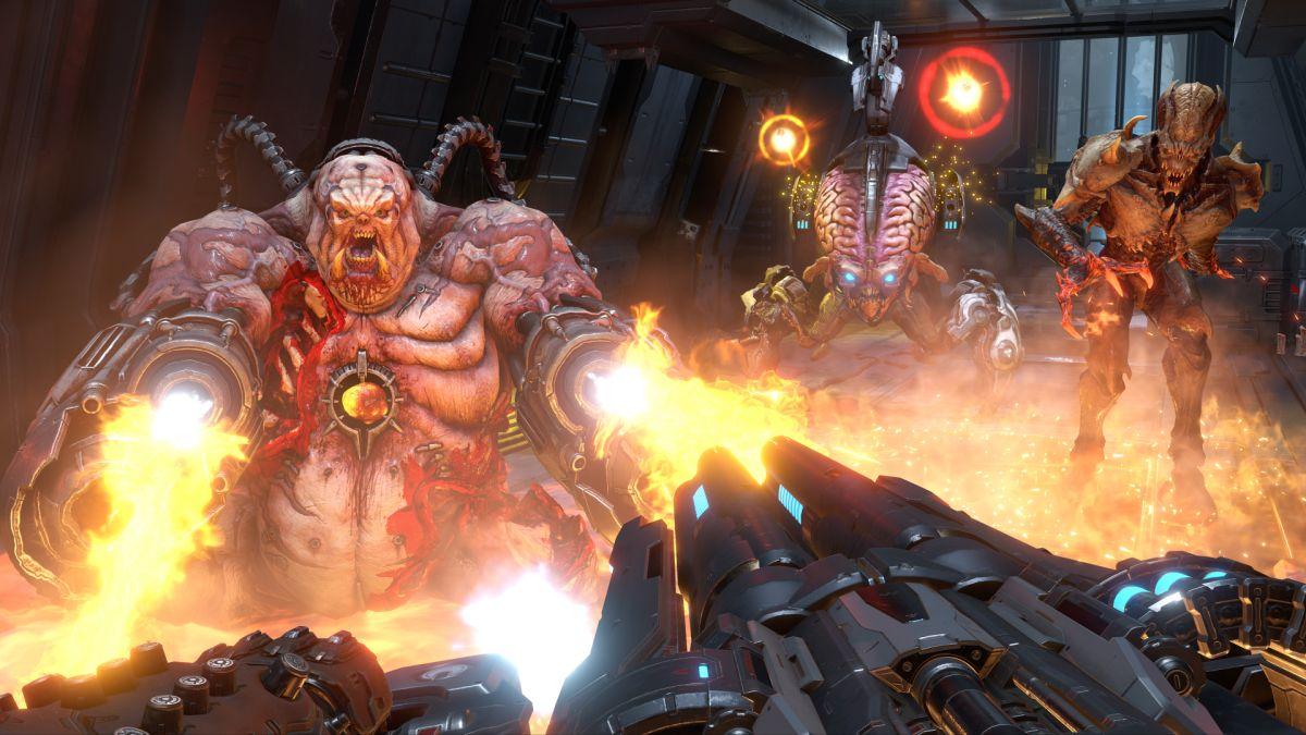 Doom Eternal's multiplayer trailer shows off the 2v1 Battlemode