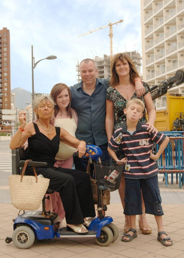 Benidorm loses its top writer Derren Litten