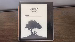 Kindle update in process