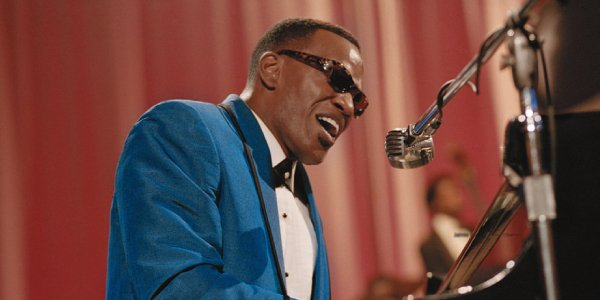 Jamie Foxx as Ray Charles in Ray