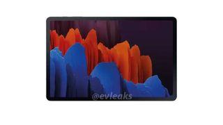 Samsung Galaxy Tab S7 design render