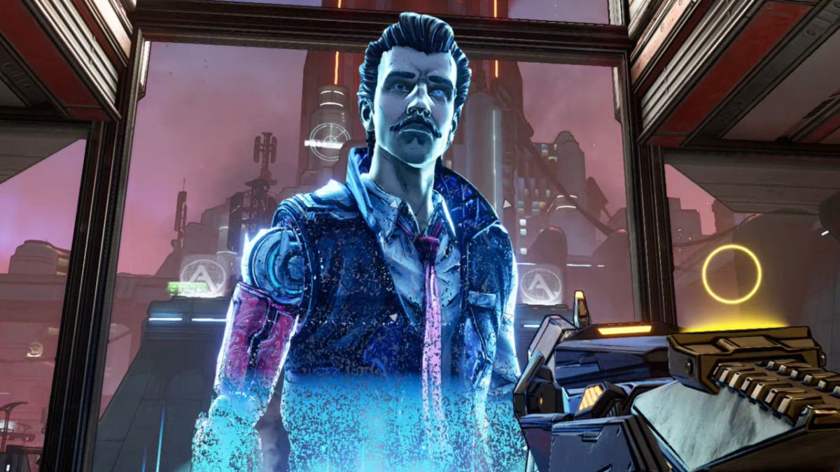 After all that Troy Baker/Gearbox drama, here's what Rhys actually sounds like in Borderlands 3